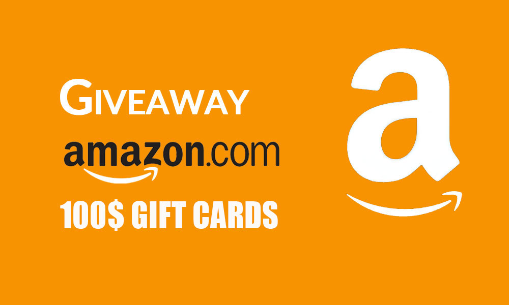Amazon gift cards giveaway
